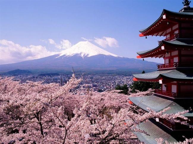 Екскурзия до Япония през пролетта