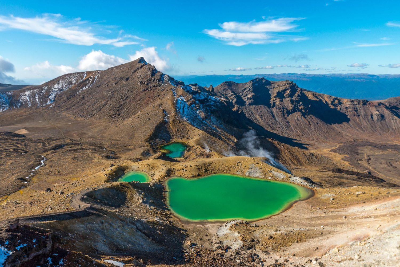Алпийски трек Тонгариро