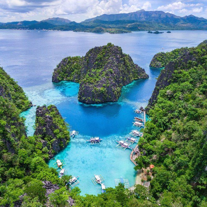 Остров Корон е сред най-красивите места на Филипините