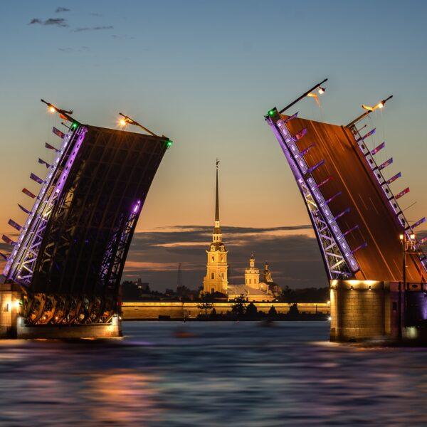 Бели нощи в Петербург